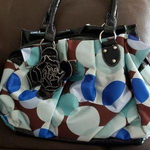 Large fashion handbag